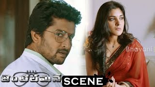 Gentleman Movie Scenes - Surabhi Asks Job For Niveda To Nani - Niveda Informs Sreemukhi