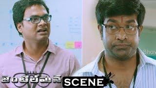 Gentleman Movie Scenes - Vennela Kishore Comedy - Vennela Kishore Terminates Madhunandan