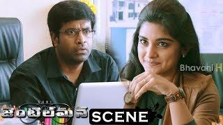 Gentleman Movie Scenes - Niveda Leaks Vennela Kishore Secrets To Him - Niveda Follows Nani