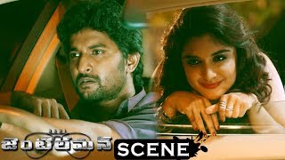 Gentleman Movie Scenes - Niveda Comes To See David - Niveda Acts as Drunkard
