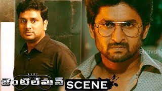 Gentleman Movie Scenes - Nani Srinivas Avasrala Fight Scene - Srinivas Avarasala Dies in Accident