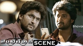 Gentleman Movie Scenes - Nani(Gautham) Tells About Nani (Jai) - David Kills Jai (Nani)