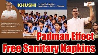Padman Movie Effect I 17 Lakhs School Girls Will Get Free Sanitary Napkins In Orrisa