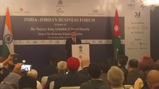 King Abdullah II bin Al- Hussein, the King of Hashemite Kingdom of Jordan's Address