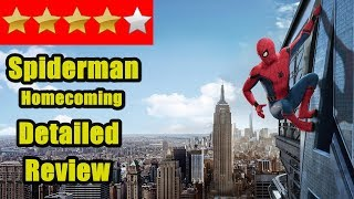 Spiderman Homecoming Detailed Review I Spider Man
