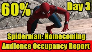 Spiderman Homecoming Audience Occupancy Report Day 3 I spiderman videos