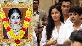 Katrina Kaif GETS Emotional After Seeing Sridevi Funeral