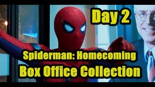 Spiderman Homecoming Box Office Collection Day 2 USA I Spiderman Film
