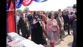 Mehbooba Mufti inaugurates 30th Police-Public Mela