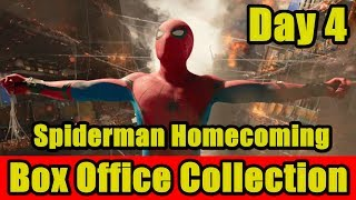 Spiderman Homecoming Box Office Collection Day 4 I Tom Holland