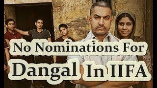 Dangal Didn't Got Any Nomination In IIFA Awards 2017