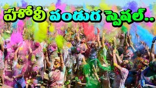 Holi Festival Of Colors  Holi Festival 2018   Importance of holi purnima in puranas | rectv india