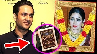 Bigg Boss 11 Contestant Vikas Gupta Dedicates His AWARD To SRIDEVI