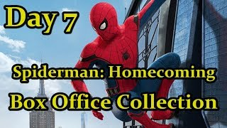 Spiderman Homecoming Box Office Collection Day 7 I Tom Holland