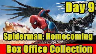 Spiderman Homecoming Box Office Collection Day 9 I Tom Holland