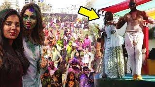 Arshi Khan's Holi Celebration - Arshi Khan Ka Holi Dance