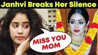 Janhvi Kapoor's Heart Wrenching Letter To Her Mom SRIDEVI