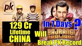 Will Bajrangi Bhaijaan Break PK Lifetime Record In