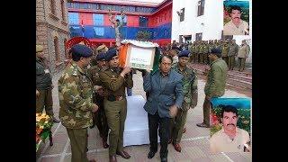 Wreath laying ceremony for martyr Kultar Singh held at DPL Srinagar