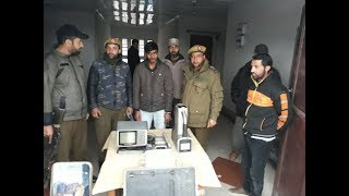 Burglar arrested, goods worth lakhs recovered