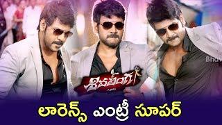 Raghava Lawrence Super Intro - Lawrence Catches Rowdies - Fight Scene - 2018 Telugu Movie Scenes