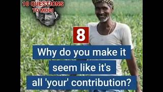 Mr. Modi Farmers of Karnataka have 10 Questions for you