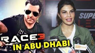 Jacqueline Fernandez On RACE 3 ACTION Scenes In Abu Dhabi | Salman Khan