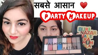 Glam Makeup ft. Swiss Beauty | Wedding Guest Makeup Tutorial- easy GRWM | JSuper Kaur