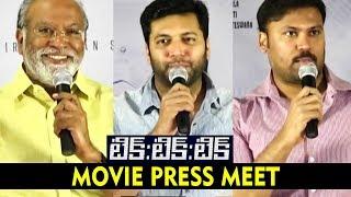 Jayam Ravi Speech @ Tik Tik Tik Movie Press Meet    Nivetha Pethuraj