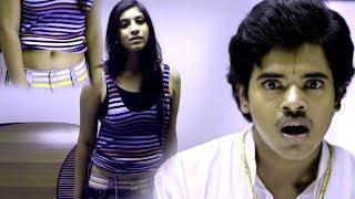 Girl Tempting Bharath - Bharath Touches Girls Legs - Latest Telugu Movie Scenes