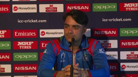 Rashid Khan's Press Conference