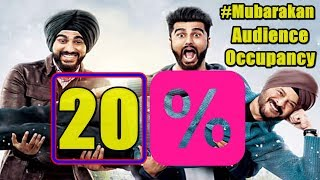 Mubarakan Film Audience Occupancy Report Day 1 l Morning Shows