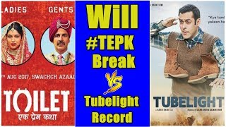 Will Toilet Ek Prem Katha Beat Tubelight Lifetime Collection Record? Audience Poll
