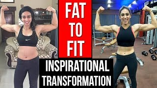 The AMAZING FAT TO FIT Transformation Story | Female Fitness Motivation