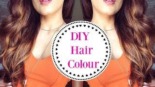 DIY- How To- Easily Colour Your Hair At Home/ Lowlights Hair Tutorial- Knot Me Pretty