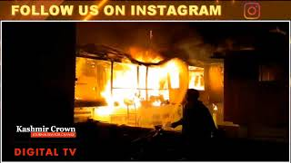 In Video | Two Residential Houses Gutted In Fire At Sopore