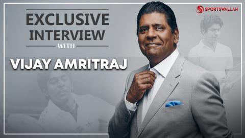 Sportswallah Exclusive : Vijay Amritraj