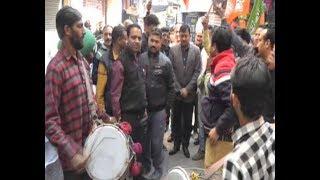 BJP ने त्रिपुरा में लेफ्ट के 25 साल के किले को किया ध्वस्त,  राजौरी में मना जश्न