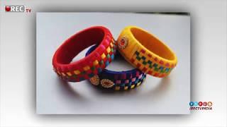 latest Silk thread bangles I 2018 I Silk Thread Bangles New Designs I rectv india