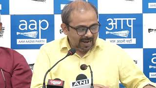 Dilip Pandey Briefs Media on How BJP Ruling MCD is not working on Health and Education sector