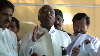LoP Lok Sabha Mallikarjun Kharge on the Banking Scam