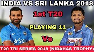India vs Sri Lanka 1st T20 - India Predicted playing XI