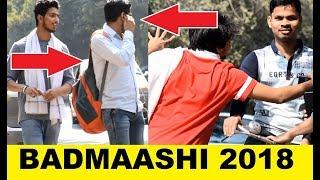 BADMAASH Hu Mei !! Dikh Mat Jaio - BAKCHODI (Prank in India 2018)