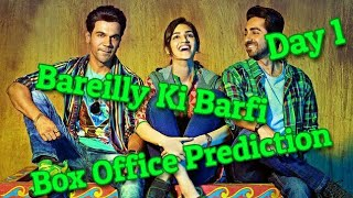 Bareilly Ki Barfi Box Office Collection Prediction Day 1