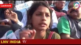 गुरमेहर कौर के समर्थन में आज आईसा संगठन का धरना