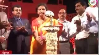 सांस्कृतिक कार्य्रकम के साथ हुआ ताज महोत्सव का आगाज़