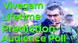 Vivegam Box Office Collection Prediction Lifetime Audience Poll