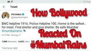 How Bollywood Stars Reacted On Mumbai Rains