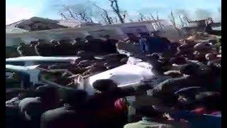 तेज रफ्तार का कहर, CRPF की गाड़ी ने वैगनआर को मारी टक्कर, 4 लोग घायल