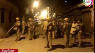 रामनवमी के जुलुस में हंगामा, राम भक्तों और पुलिस के बीच बवाल
